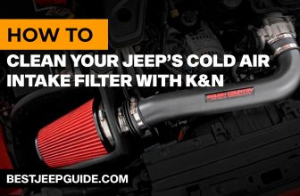 How to Clean Your Jeep's Cold Air Intake Filter with K&N